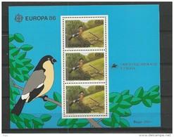 1986 MNH Azoren, Block 7, Postfris