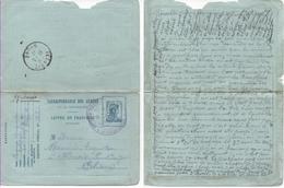 1916 Carte Lettre De Franchise Militaire Cachet 60e Régiment Territorial Avec Texte Sur La Guerre