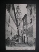 Menton.-La Rue De La Conception 1905
