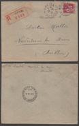 MURVIEL (LES BEZIERS) - HERAULT - TYPE PAIX / 1933 LETTRE RECOMMANDEE POUR L ALSACE  (ref 3112) - France