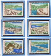 (CL. 98 Bis) Roumanie ** N° 3088 à 3093 - Centrales Hydrauliques -