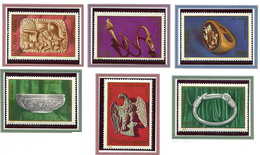 (CL. 98 Bis) Roumanie ** N° 3133 à 3138 - Archéologie Daco-romane En Moldavie -