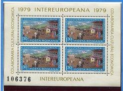 (CL. 98 Bis) Roumanie ** N° 3148 En Petite Feuille.Collaboration Culturelle économique (transport Postal Par Diligence)