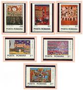 (CL. 98 Bis) Roumanie ** N° 3149 à 3154 - Année Internationale De L'Enfant. Dessins D'enfants -