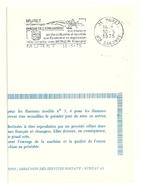 GARONNE / Haute - Dépt N° 31 = MURET 1975 = FLAMME FDC SECAP Illustrée´BERCEAU AERONAUTIQUE / Jumelée + MONZON ´