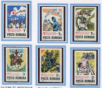 (CL. 98 Bis) Roumanie ** N° 3382 à 3387 -  Ann. De L'Union Des Jeunesses Communistes Roumaines -
