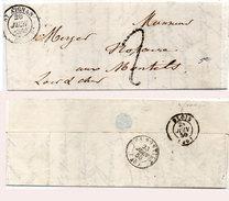 Lettre (LAC) Adressée De SAINT AIGNAN A LES MONTILS En 1850 (95474)