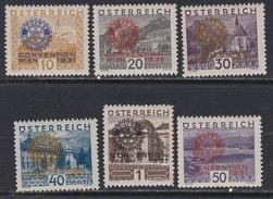 T90  Austria B87-92, 1931 Rotary Convention, Vienna
