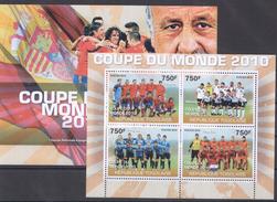 A183 REPUBLIQUE TOGOLAISE COUPE DU MONDE KB+BL MNH