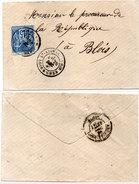 Enveloppe Adressée De SAINT AIGNAN A BLOIS  (95475)