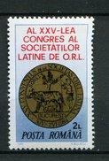 Roumanie ** N° 3514 - Congrès D'oto-rhino-laryngologie -