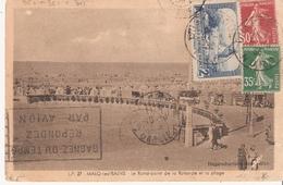 2f.Moulin De Daudet + 30c.et35c.semeuse Camée Sur Carte Pour Le Gabon