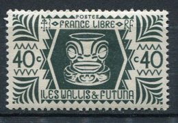 WALLIS -  Yv. N°  137   *  40c  Série De Londres  Cote  1 Euro  BE  2 Scans - Wallis E Futuna