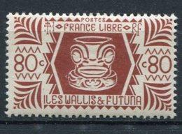 WALLIS -  Yv. N°  138   *  80c  Série De Londres  Cote  1 Euro  BE  2 Scans - Wallis E Futuna