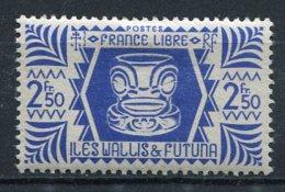 WALLIS -  Yv. N°  142   *  2f 50 Série De Londres  Cote  0,75 Euro  BE  2 Scans - Wallis E Futuna