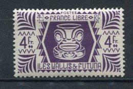 WALLIS -  Yv. N°  143   *  4f Série De Londres  Cote  1 Euro  BE  2 Scans - Wallis E Futuna