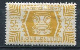 WALLIS -  Yv. N°  144   *  5f Série De Londres  Cote  1,25 Euro  BE  2 Scans - Wallis E Futuna