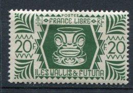 WALLIS -  Yv. N°  146   *  20f Série De Londres  Cote  1,75 Euro  BE  2 Scans - Wallis E Futuna