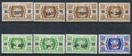 WALLIS -  Yv. N°  148 à 155   *  Surchargés  Série De Londres  Cote  9 Euro  BE  2 Scans - Wallis E Futuna