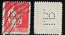 Paix N° 283 Perforé/perfins IR 14 INGERSOL-RAND - Perfin