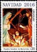 Uruguay - 2016 - Christmas - Mint Stamp
