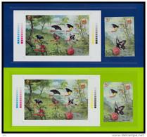 Indonesia 2016 Flora & Fauna Mnh MS Butterflies Spec Edition -