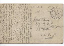 CP Village Serbe Militaire Camp De Zeitenlik Salonique C.Trésors Et Postes 13*9/1916(502) V.Militaire 103° RAL PR4077 - Marcophilie (Lettres)