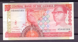 Gambia 5 Dalasis  UNC - Gambie