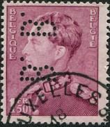 COB  429 (o) / Yvert Et Tellier N° 429 (o) Perfin/ Perforé - 1934-51