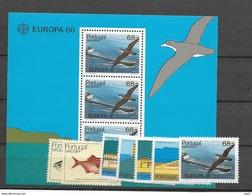 1986 MNH Madeira Year Complete, Postfris