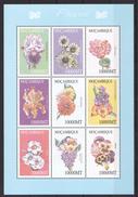 A189 MOCAMBIQUE FLORA FLOWERS DAHILA HIBRID DIANTHUS 1KB MNH