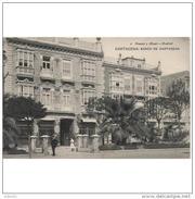 MCATP9551CPA-LFTD294TBAN.Tarjeta Postal DE MURCIA.Edificios,lardines,plaza,arboles  Y BANCO DE CARTAGENA - Bancos