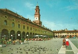 Vigevano (Pavia, Lombardia) Piazza Ducale E Torre Del Bramante, Place Ducale Et Tour Du Bramante, Ducal Square - Vigevano