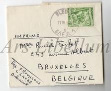 Enveloppe / Stamp / Joegoslavië / 1952 / 10 Din / Yugoslavia / 2 Scans - 1945-1992 Socialistische Federale Republiek Joegoslavië