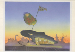 Postcard - Toy Story - Pizzi Planet - Concept Art By Bill Cone - 1994 - New - Postcards