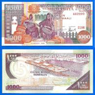 Somalie 1000 Shillings 1996 Neuf UNC Que Prix + Port Shilin Billet Bateau Afrique Africa Paypal Skrill Bitcoin - Somalia