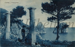 Postcard / Capri / I Faraglioni / 1931 / Ed. Ris. Giuseppe Trampetti - Napoli / Used / 2 Scans - Unclassified