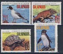 MDW-BK1-065 MDA MDS MDB  MINT PF/MNH ¤ ECUADOR 1992 4w In Serie ¤ WWF - WILD ANIMALS - ENDANGERED ANIMALS