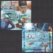 A193 2012 BURUNDI SPORT OLYMPIC GAMES LONDON 2012 KB+BL MNH