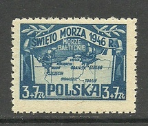 POLEN Poland 1946 Michel 440 *