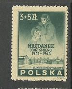 POLEN Poland 1946 Michel 436 Majdanek *