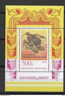 1983 MNH Indonesia Block 53 Bird, Postfris**