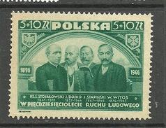 POLEN Poland 1947 Michel 448 *