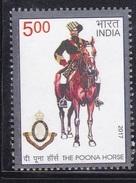 INDIA, 2017, The Poona Horse, Militaria, MNH, (**)