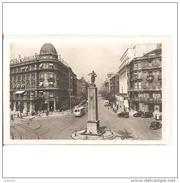 VCYTPA3724CP-LFTD10451TBAN.Tarjeta Postal De VIZCAYA.Coches,BANCO DE VIZCAYA.Monumento A LOPEZ HARO Y GRAN VIA De BILBAO - Bancos