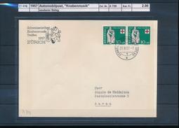 """1957 Automobilpost, """"Knabenmusik"""" (17-170)"""