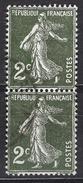 FRANCE 1932 -  PAIRE - Y.T. N° 278  - OBLITERES - FD547