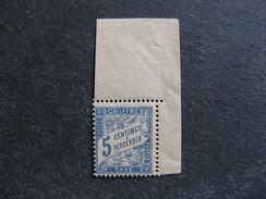 TB Taxe N°28 A , Papier G.C. Neuf XX . Cote = 10 Euros.