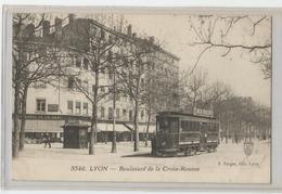 69 - Rhone - Lyon 4 - Tramway Tram Boulevard De La Croix Rousse - Lyon 4
