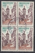 FRANCE 1971 -  BLOC DE 4 TP - Y.T. N° 1685  - OBLITERES - FD550
